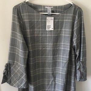 H&M Plaid Shift Dress